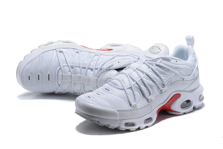 huge discount 807f3 5575b Men's Nike Air Max Plus champagnepapi White Red Winter Running Shoes  NIKE-ST005118