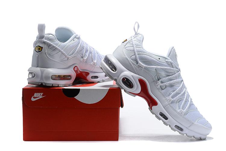 e50edda852b Men s Nike Air Max Plus champagnepapi White Red Winter Running Shoes ...