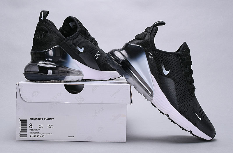 check out 95aa1 0f63d Nike Air Max 270 Black White Spectrum AH8050-403 Women's Men's Casual Shoes  AH8050-403A