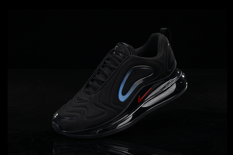 Nike Air Max 720 KPU Men's Running Shoes Black Red #SIM005659