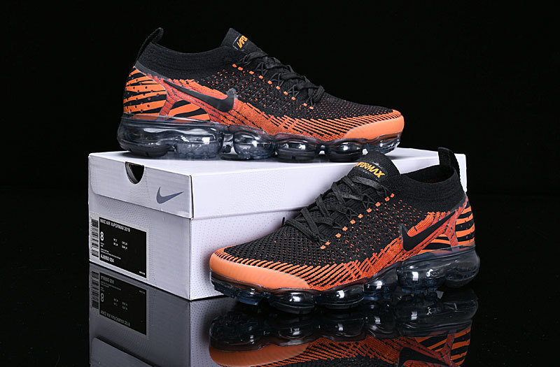 best website cb6e4 d585d Nike Vapormax 2. 0 Tiger Stripes Desert Orange / Black - Total Orang  AV7973-800 Women's Men's Running Shoes AV7973-800