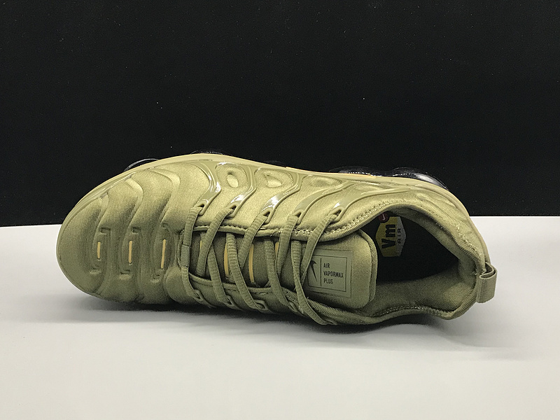 the best attitude b3766 b5f0e Nike Air Vapormax Plus TN Olive Green Gold Men's Women's Running Shoes  NIKE-ST005203