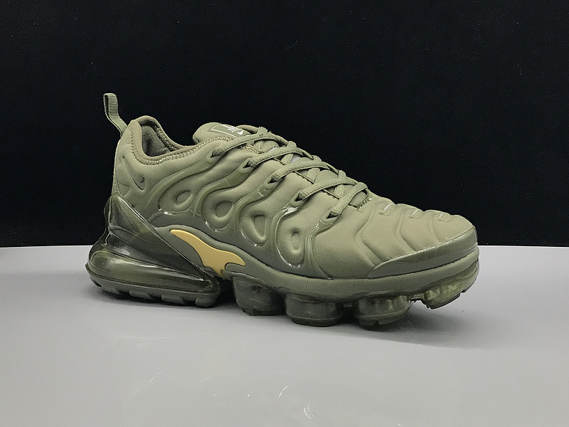 Nike Air Max 270 TN Plus MoonRock Olive Green Gold Men's Running Shoes NIKE ST005216