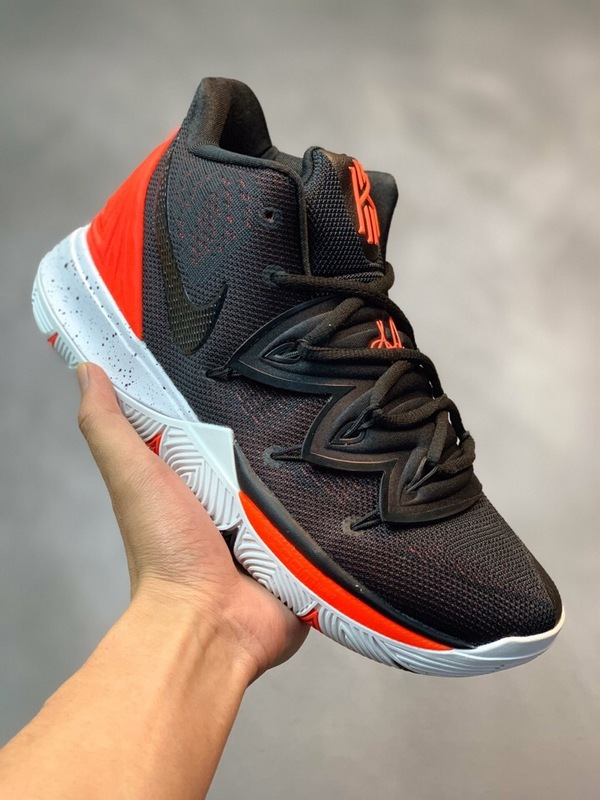 3498af6bab3 Nike Kyrie 5 Black Red Men s Basketball Shoes NIKE-ST004914 ...