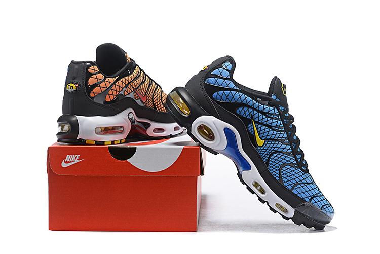 size 40 df08a edd4e Mens Nike Air Max Plus Greedy Hyper Blue Shark AV7021 001 Males ...