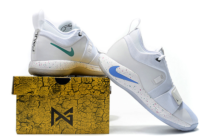 buy online d0f3f b4a73 Nike PG 2. 5 Sony PlayStation White Multi-Color Men's Basketball Shoes  NIKE-ST004938