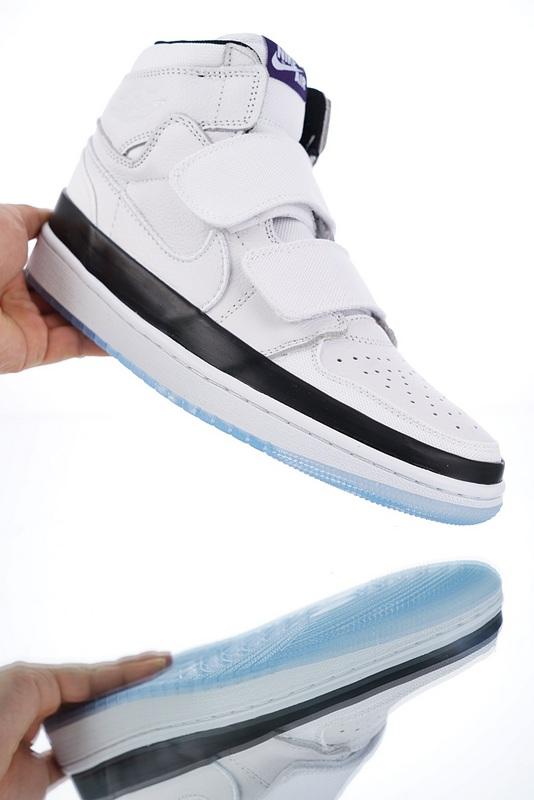 separation shoes 756e8 3eb39 Nike Air Jordan 1 Double Strap Concord AQ7924-107 Mens Athletic Basketball  Shoes AQ7924-107