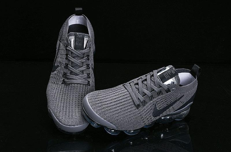 Nike Air Vapormax Flyknit 2019 Triple Grey AJ6910-007 Women s Men s Running  Shoes 25be7c53c