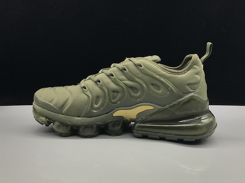 55c7095625fb Nike Air Max 270 TN Plus MoonRock Olive Green Gold Men s Running Shoes