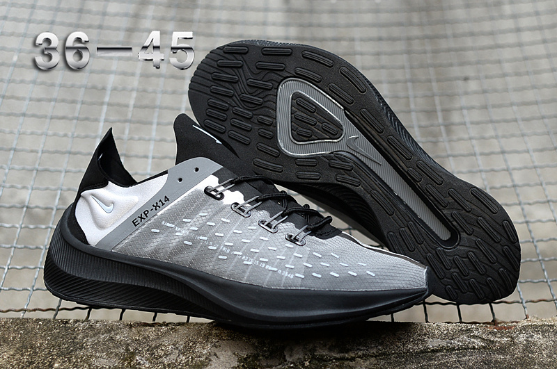 94d3d1b353a Nike EXP-X14 Cool Grey White Black Men s Women s Running Shoes NIKE ...