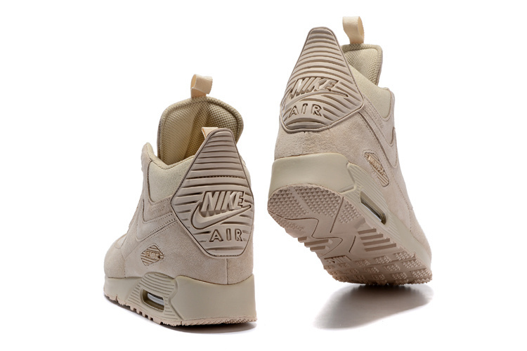 on sale ddb5e a93cd Nike Air Max 90 Winter Sneakerboot Beige 684714 021 Men's Running Shoes  Sneakers 684714-021