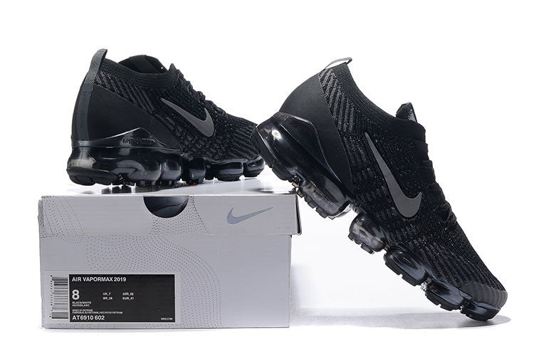 100% authentic 94470 510e0 Nike Air Vapormax Flyknit 2019 Black Charcoal Gray Men's Running Shoes  NIKE-ST005103