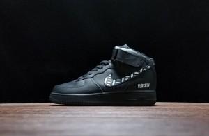 huge discount 628e0 5f3f2 Nike Air Force 1 Premium Black 315123-011 Men s Sneakers