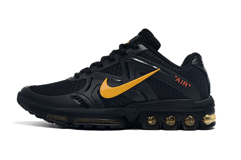 buy online aa4ce 22216 Nike Air Max 2019 Black Gold Men's Running Shoes NIKE-ST005511