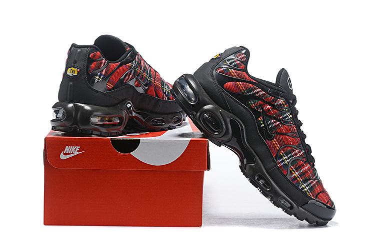 new styles 52872 66c87 Mens Nike Air Max TN Premium Tartan Multi-Color AV9955 001 Males Running  Shoes AV9955-001