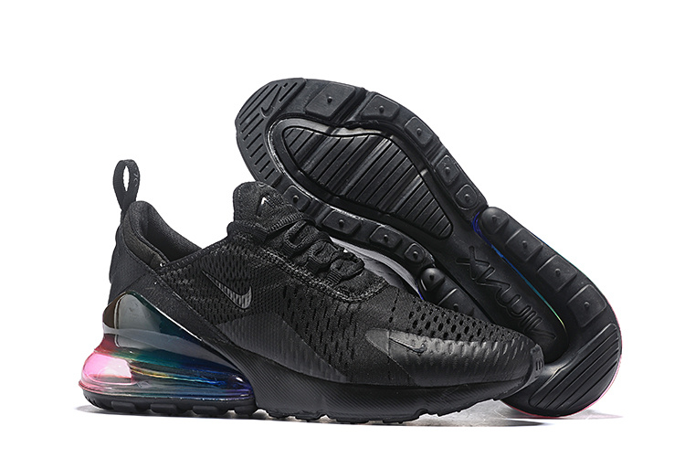 Rabatt Top 12 Nike Air Max 270 Triple Black Mens Gorgeous