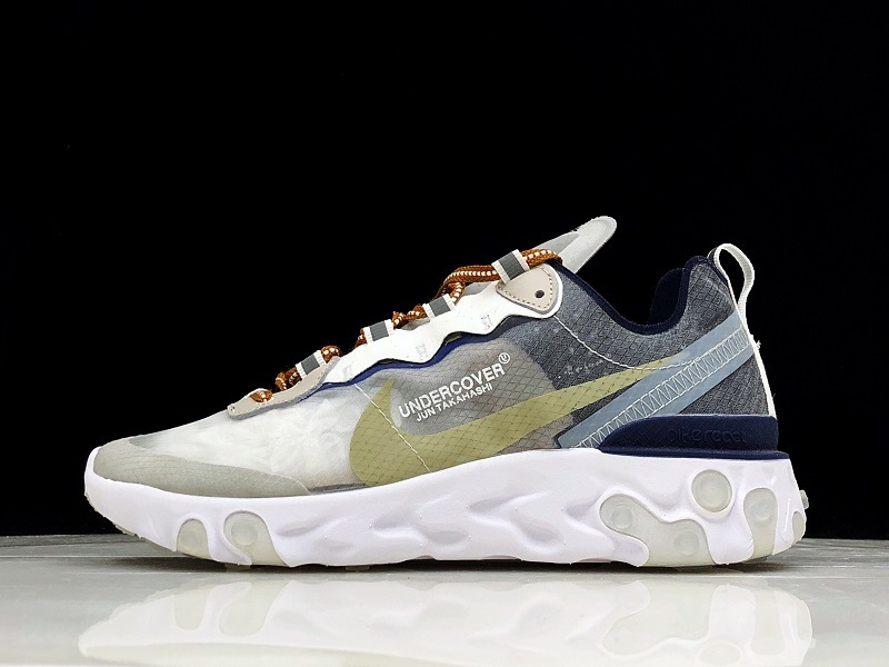 70781f410e61 Nike React Element 87 White Gray AQ1813-341 Women Men s Casual Shoes ...