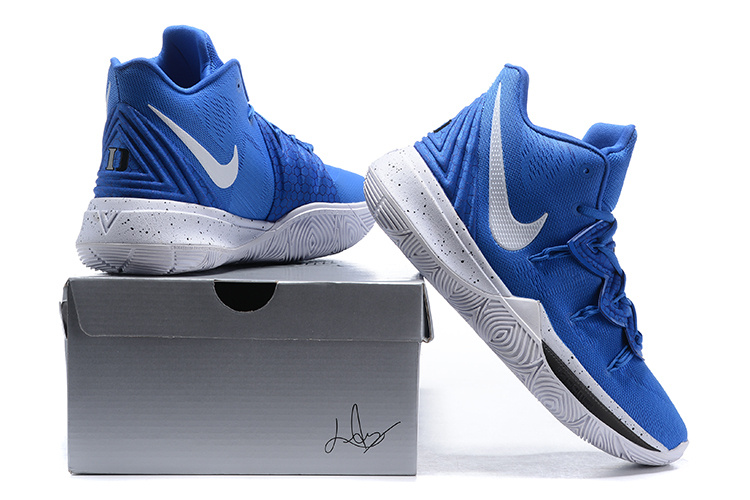 Nike Kyrie 5 Duke Blue Devils PE Men s Basketball Shoes NIKE ... 3b90c852d