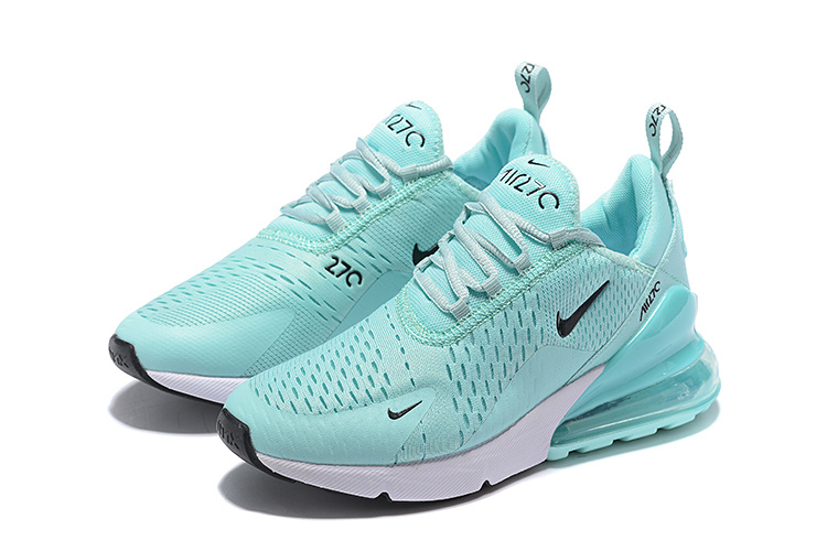 cheap for discount e400f 8f410 Nike Air Max 270 Flyknit Ghost Green Black White Women's Casual Shoes  NIKE-ST005368