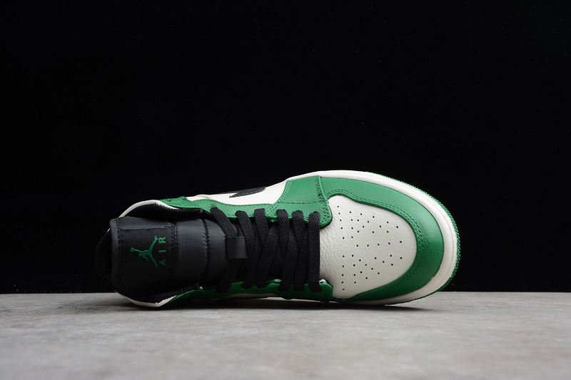 79a919f11af8 Nike Air Jordan 1 Retro Mid Pine Green 852542-301 Mens Athletic Basketball  Shoes