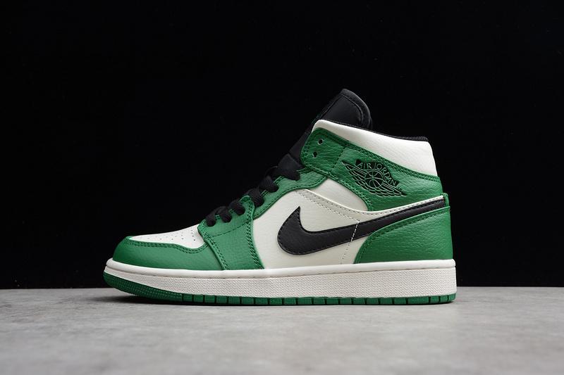 the best attitude cheap cheapest Nike Air Jordan 1 Retro Mid Pine Green 852542-301 Mens Athletic Basketball  Shoes 852542-301