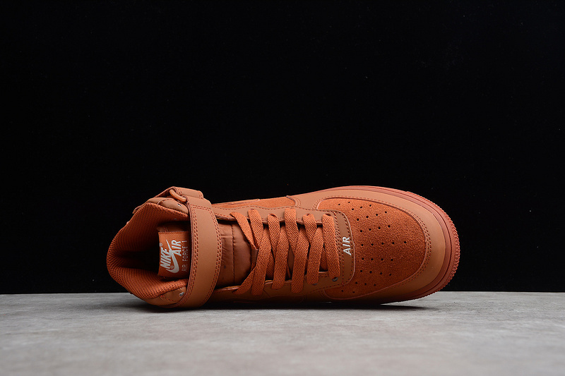 info for 3d281 29c2e Nike Air Force 1 Mid Orange 315123-207 Men s Sneakers