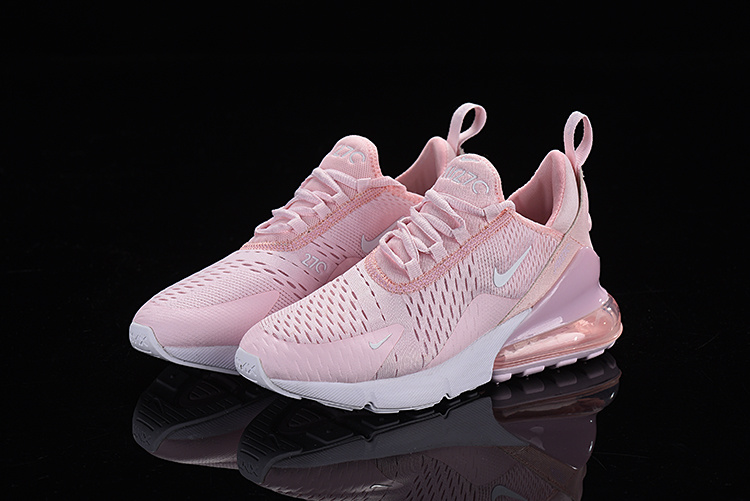 Nike Air Max 270 Flyknit Barely Rose Vintage Wine AH6789 601 Women's Casual Shoes AH6789 601a