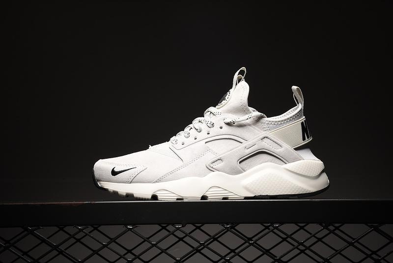 9d204d3a4317 Nike Air Huarache Run Ultra Grey Black-White 829669-101 Men s ...