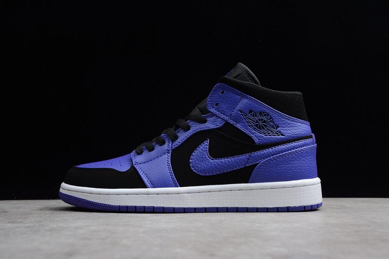 newest b3abc 185e0 Nike Air Jordan 1 Retro purple black 554724-051 Mens Athletic Basketball  Shoes 554724-051