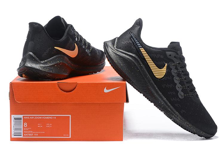 Nike Air Zoom Vomero 14 Black Gold AH7857 111 Men s Sneakers AH7857 ... a4af0a9e3