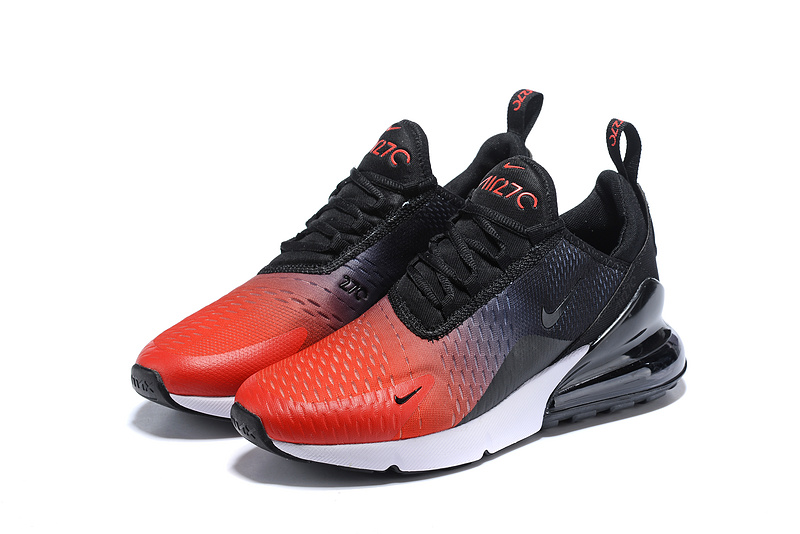 info for acc1d b8970 Nike Air Max 270 Flyknit Black Red Multi-Color Men's Casual Shoes  NIKE-ST005357
