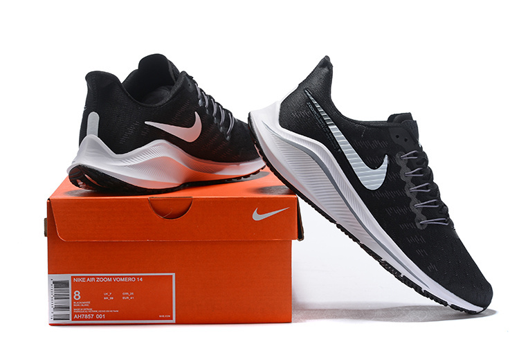 low priced 4068c 58e0a Nike Air Zoom Vomero 14 Black White AH7857 001 Men s Sneakers