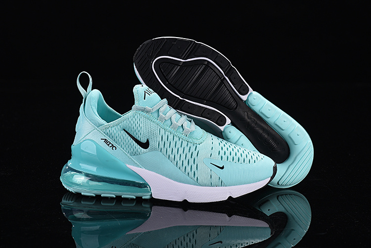 cheap for discount 25dcc df421 Nike Air Max 270 Flyknit Ghost Green Black White Women's Casual Shoes  NIKE-ST005368