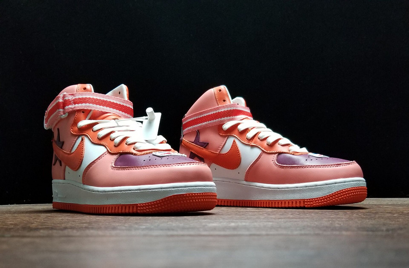 promo code 76c4a 4fd81 Nike Air Force 1 High x RT AQ3366-601 Mens Sneakers