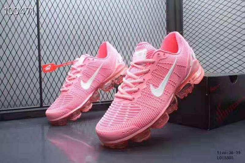 official photos 904ab 4cdf0 Nike Air VaporMax 2019 KPU Pink Women's Running Shoes NIKE-ST005589