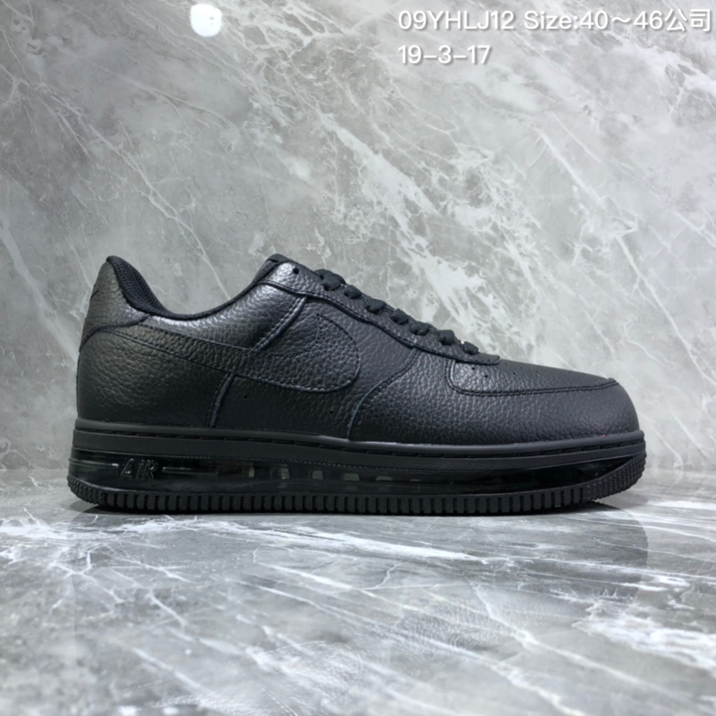 new arrival 1bc8f bb4c3 Nike Air Force 1 Low/mid Black Men's Sneakers NIKE-ST005724