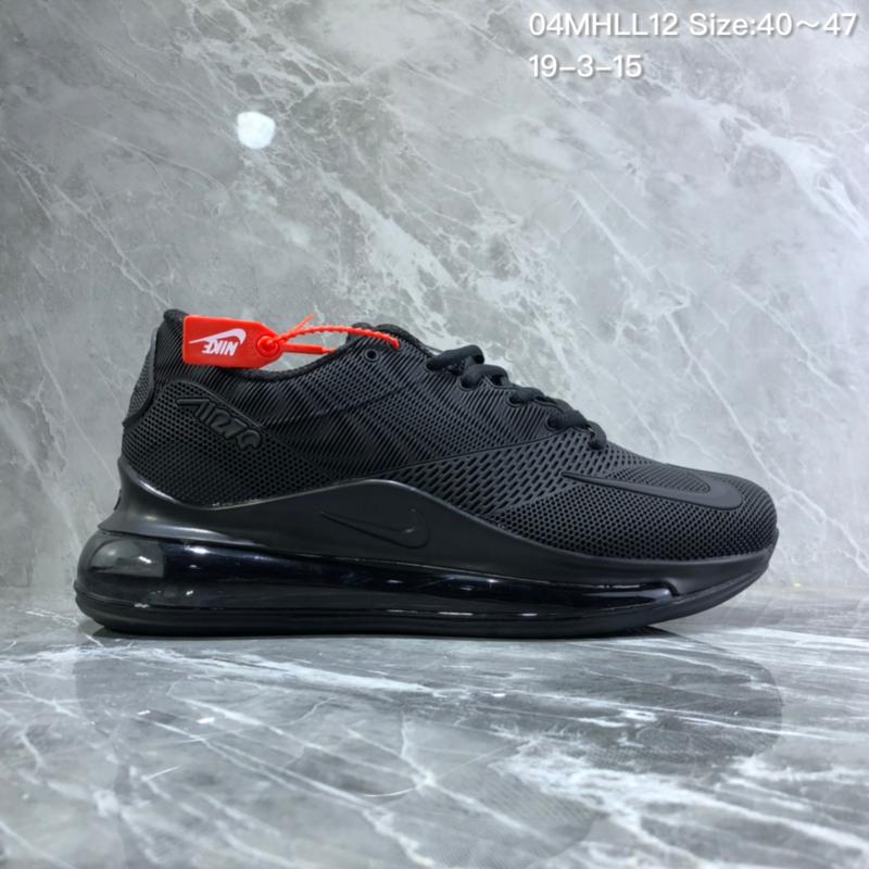 df36a56c31615 Nike Air Max 720 KPU Black Men's Casual Shoes NIKE-ST005727 ...
