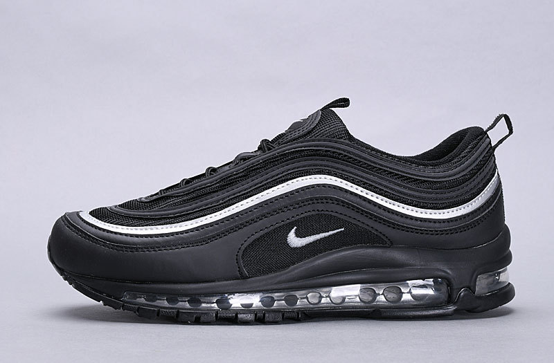 new product 30281 444e5 Nike Air Max 97 Black White AQ4137 009 Women's Men's Casual Shoes  NIKE-ST005691