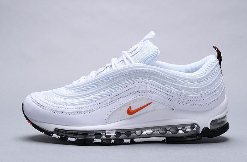 Nike Air Max 97 shoes white blue red