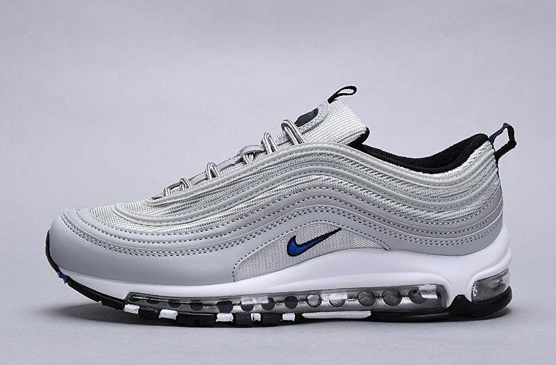 7b76467c85 Nike Air Max 97 White Gray Mens Casual Shoes NIKE-ST005787 ...