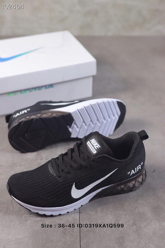 f5eaa752ca6 Nike Air Vapormax Flyknit 2019 Black White Men s Running Shoes NIKE ...