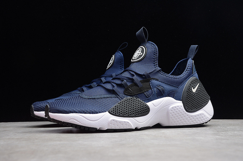 cef7801e20b56 Men's Women's Nike Air Huarache E. D. G. E. TXT QS Black Bule AO1697-400  Casual Shoes