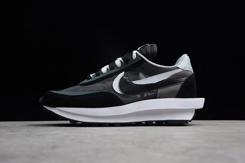 7224554f1d9c UNDERCOVER x Nike Waffle Racer Black White 884691-195 Men s Running ...