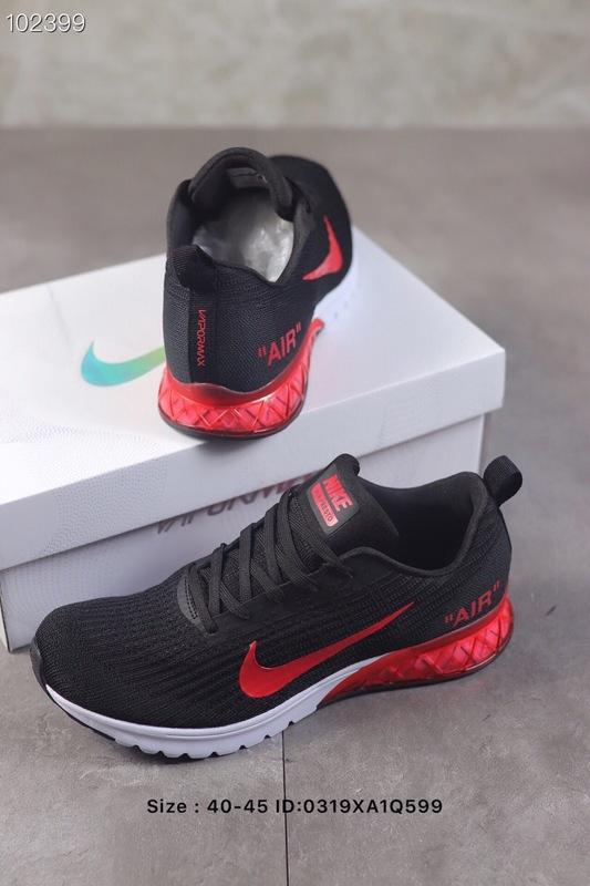 online store 871dc 9d601 Nike Air Vapormax Flyknit 2019 Red Black White Men's Running Shoes  NIKE-ST005749
