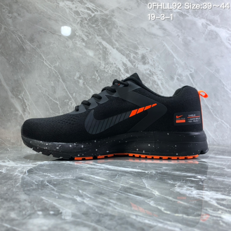 2dda570cd8c2c Men s Casual Shoes Nike Air Zoom Pegasus Black Orange NIKE-ST005616 ...