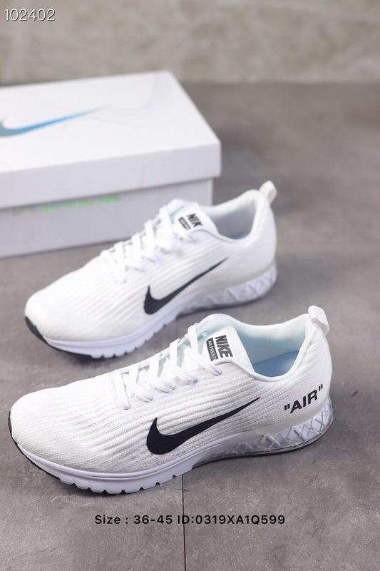 abd8018b7b32b Nike Air Vapormax Flyknit 2019 White Men s Running Shoes NIKE ...