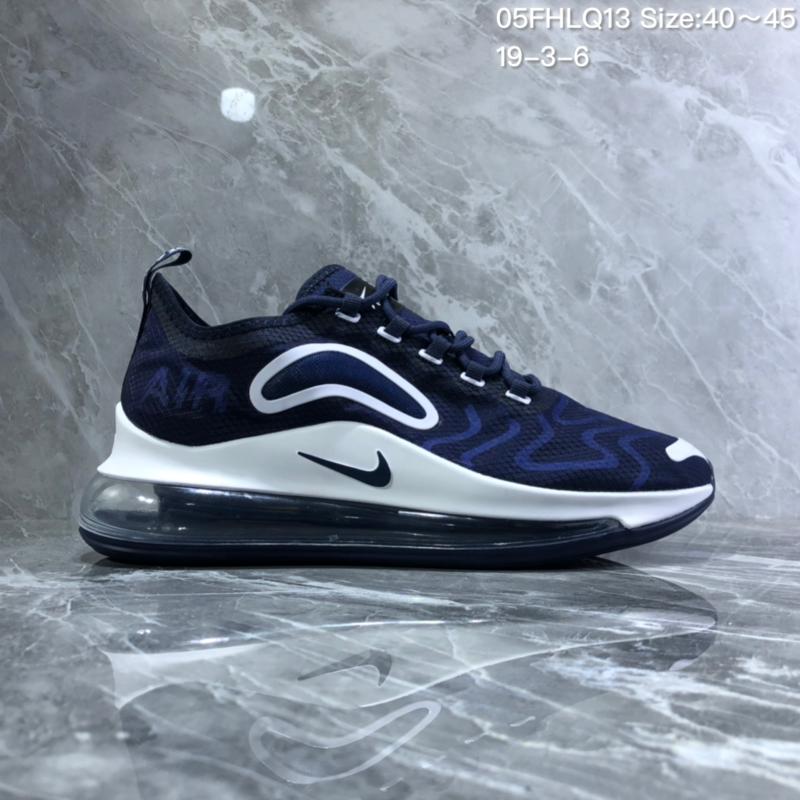 80b1c5a523221 Nike Air Max 720 Black white Men's Casual Shoes NIKE-ST005648 ...