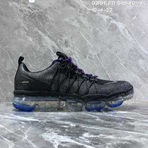 9e88d9cd0e5a Nike Air VaporMax Flyknit 2018 Black Bule Men s Running Shoes