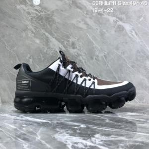 b60db1a2555a Nike Air VaporMax Flyknit 2018 Black White Men s Running Shoes