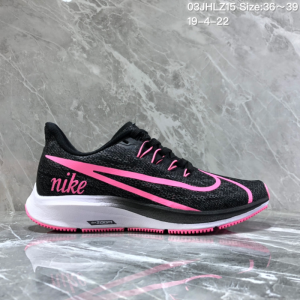 5ab4f8d78bbbd Nike Air Zoom Pegasus 36 Black Pink Women s Casual Shoes